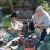 Phil teaching flint knapping[1]